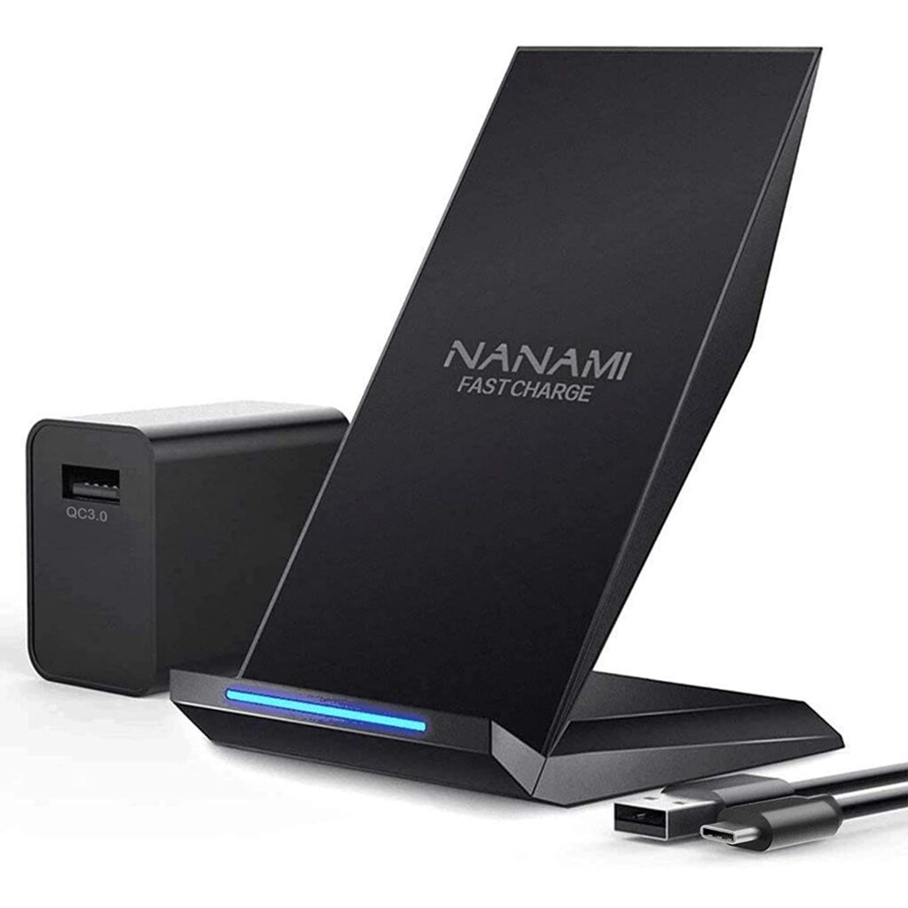Nanami 2-Coil Qi Wireless Charger Stand